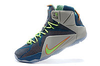 Кроссовки Nikе LeBron XII (12) Blue Orange Elite Series (40-46), фото 4