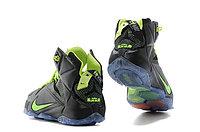 Кроссовки Nike LeBron XII (12) Black Green Elite Series (40-46), фото 5