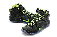 Кроссовки Nike LeBron XII (12) Black Green Elite Series (40-46), фото 2