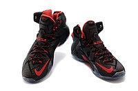 Кроссовки Nike LeBron XII (12) Black Red Elite Series (40-46), фото 2