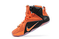 Кроссовки Nike LeBron XII (12) Black Orange Elite Series (40-46), фото 4