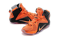 Кроссовки Nike LeBron XII (12) Black Orange Elite Series (40-46), фото 2