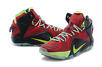 Кроссовки Nikе LeBron XII (12) Red Green Elite Series (40-46), фото 2