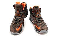 Кроссовки Nike LeBron XII (12) Dark gray Orange Elite Series (40-46), фото 3