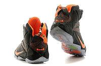 Кроссовки Nike LeBron XII (12) Dark gray Orange Elite Series (40-46), фото 5