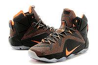 Кроссовки Nike LeBron XII (12) Dark gray Orange Elite Series (40-46), фото 2