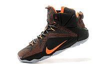 Кроссовки Nike LeBron XII (12) Dark gray Orange Elite Series (40-46), фото 4