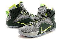 Кроссовки Nike LeBron XII (12) gray Green Elite Series (40-46), фото 2