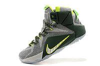 Кроссовки Nike LeBron XII (12) gray Green Elite Series (40-46), фото 4