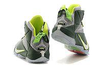 Кроссовки Nike LeBron XII (12) gray Green Elite Series (40-46), фото 5