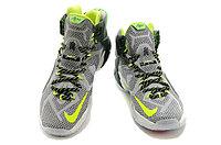 Кроссовки Nike LeBron XII (12) gray Green Elite Series (40-46), фото 3