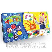 """Пальчиковые краски """"Мое первое творчество"""" 4 цвета"""