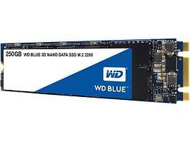 Твердотельный накопитель 250GB SSD WD WDS250G2B0B Серия BLUE 3D NAND M.2