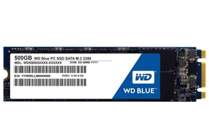 Твердотельный накопитель 500GB SSD WD WDS500G2B0B Серия BLUE 3D NAND M.2