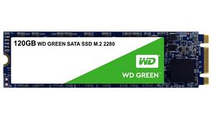 Твердотельный накопитель 120GB SSD WD WDS120G2G0B Серия GREEN 3D NAND M.2