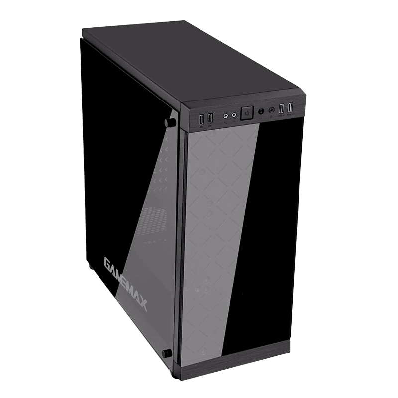 Корпус для ПК без БП GameMax Polaris Black