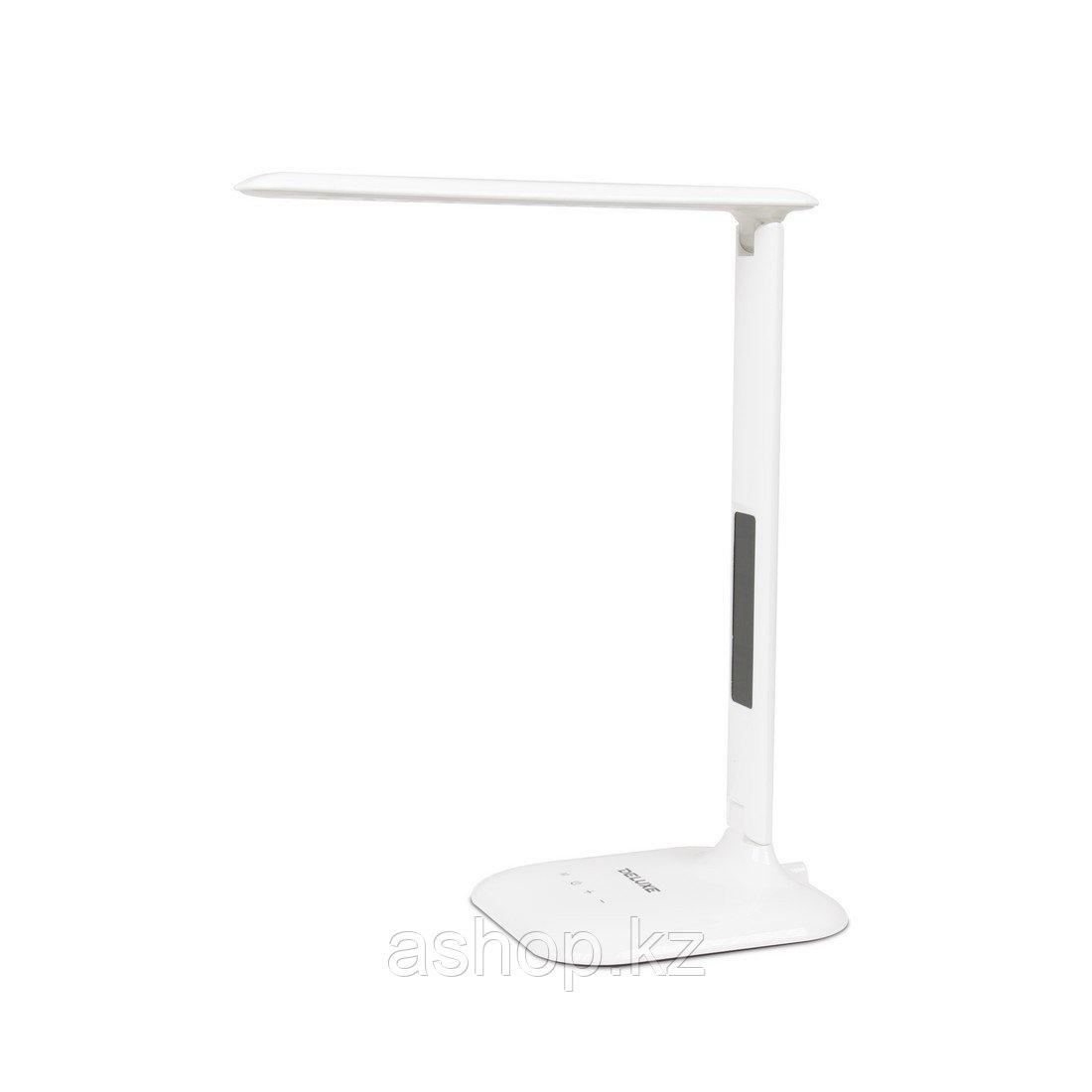 Лампа настольная светодиодная (LED) Deluxe DLTL-306W-9W, Регулировка яркости: 3 степени яркости, Цветовая темп