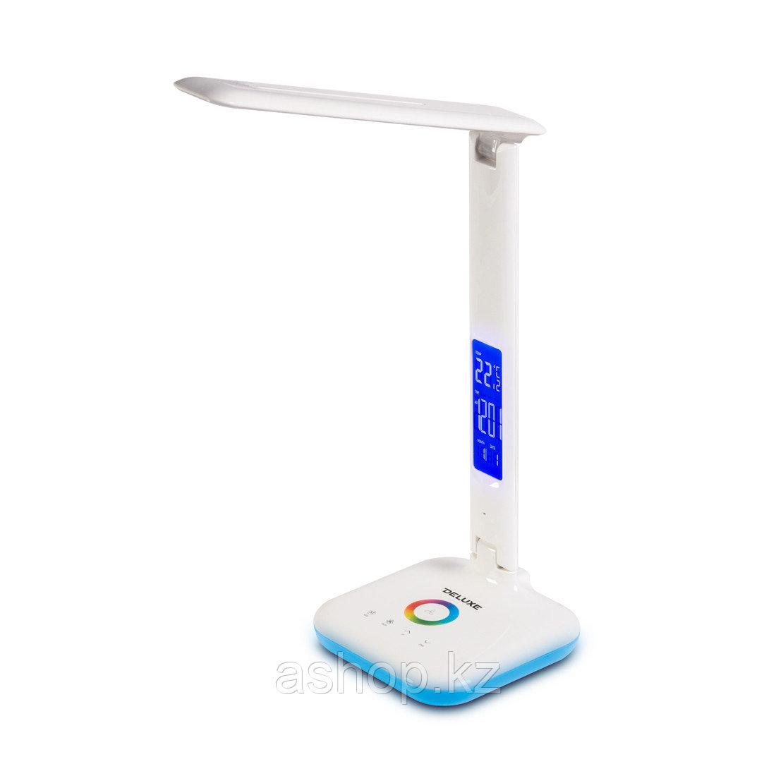 Лампа настольная светодиодная (LED) Deluxe SOHO, Регулировка яркости: 3 степени яркости, Цветовая температура: