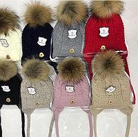 Брендовые детские комплекты- шапка и шарф