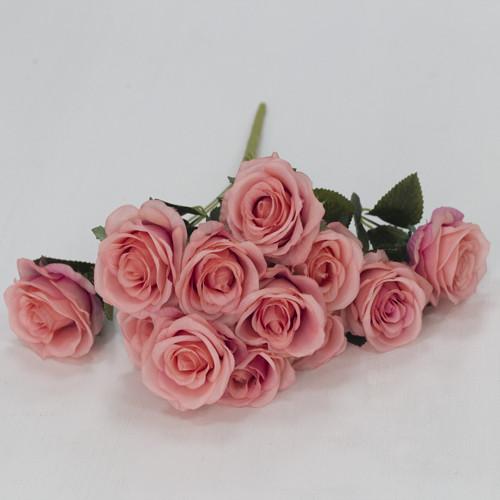 Искусственный букет роз (12 цветков)