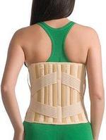 Корсет лечебно-профилактический (с 4 рёбрами жёсткости) эластичный MedTextile