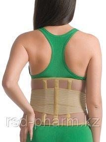 Корсет ортопедический с ребрами жесткости согревающий MedTextile, фото 2
