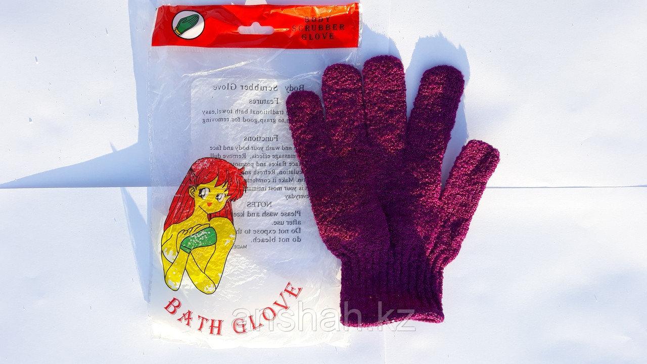 Мочалка перчатка пять пальцев