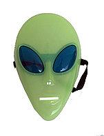 Маска Инопланетянин (фосфорная маска, светящиеся маска)