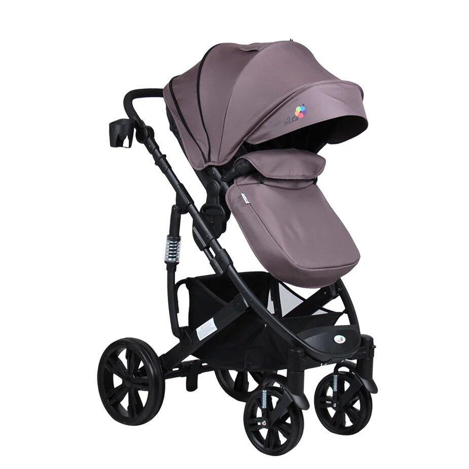 Прогулочная коляска LOTUS (серый)