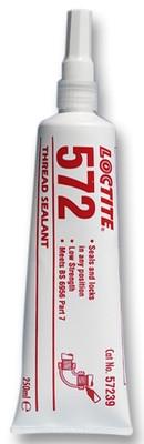 Loctite 572 250ml, Уплотнитель труб и резьбовых соединений медленной полимеризац. с тефлоном
