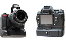 Батарейный блок на Nikon D60, фото 2