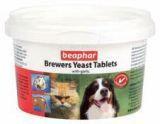 BEAPHAR Brewers Yeast Tablets Комплекс витаминов для шерсти для собак, 250таб.