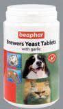 BEAPHAR Brewers Yeast Tablets Комплекс витаминов для шерсти с пивными дрожжами с чесноком, 250таб.
