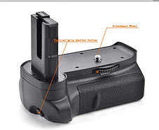 Батарейный блок на Nikon D3100, D3200, фото 3
