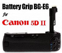 Батарейный блок (бустер) на CANON EOS 5D MARK 2 II от MEIKE/LP-E6X2