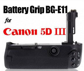 Батарейный блок (бустер) на CANON EOS 5D MARK (3) III от MEIKE/LP-E6X2
