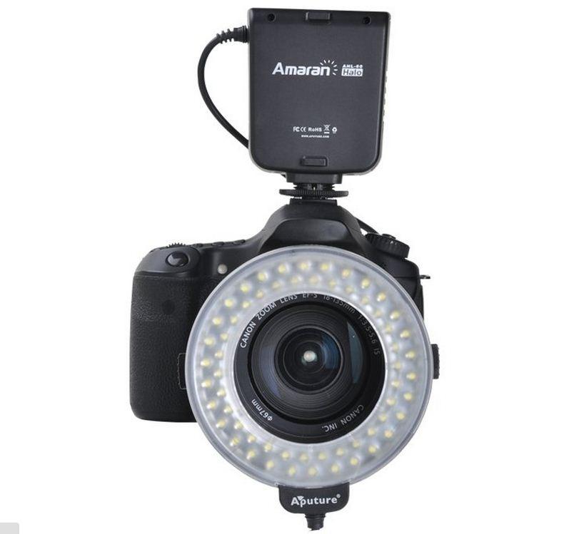 Apature Amaran AHL-С60 Накамерный LED прожектор+вспышка кольцо