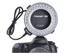 Apature Amaran AHL-С60 Накамерный LED прожектор+вспышка кольцо , фото 2