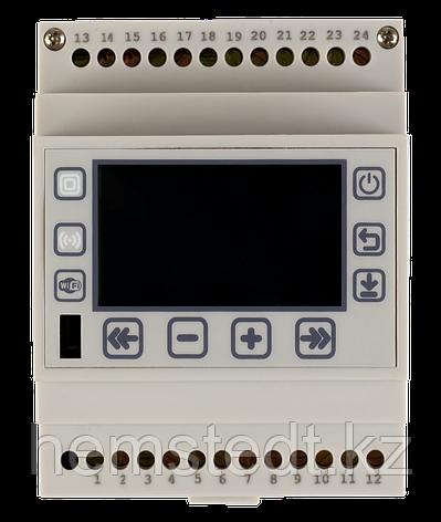 Терморегулятор программируемый многоканальный SPYHEAT NLC-508D на DIN-рейку для отопления, фото 2