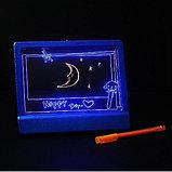 Доска для записей с подсветкой, фото 2