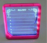 Доска для записей с подсветкой, фото 3