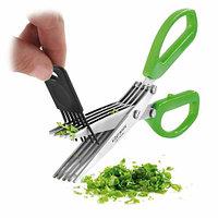 Ножницы для нарезки зелени с 5-ю лезвиями Scissors, фото 1