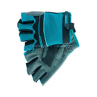 Перчатки комбинированные облегченные, открытые пальцы