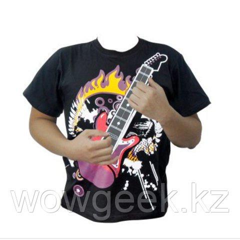 Электронная футболка - Rock Guitar