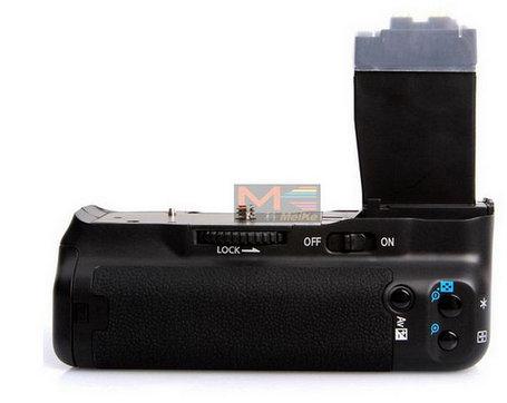 Батарейный блок на Canon EOS 600D, фото 2