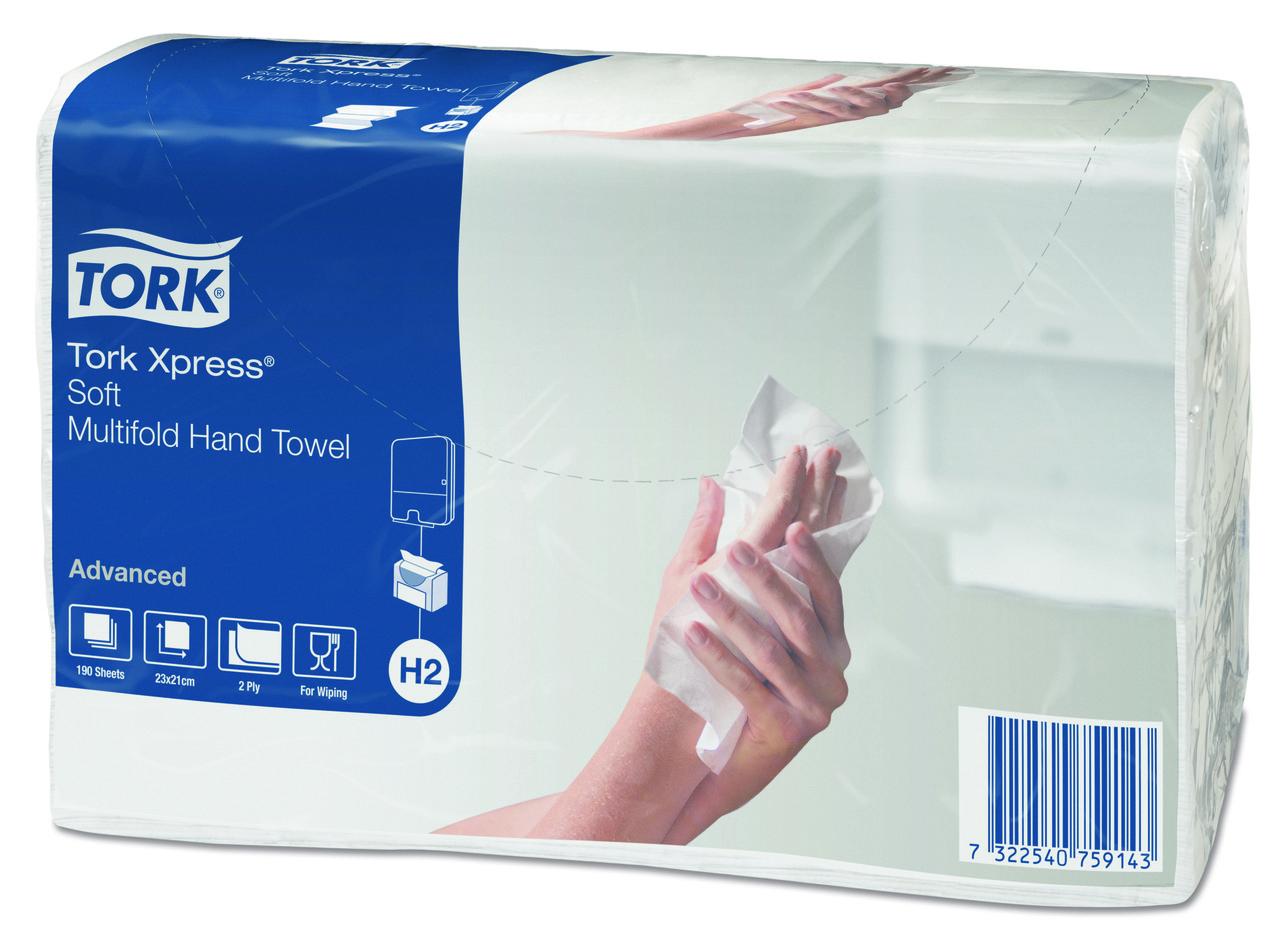 Tork Adv Xpress® листовые полотенца сложения Multifold 471135
