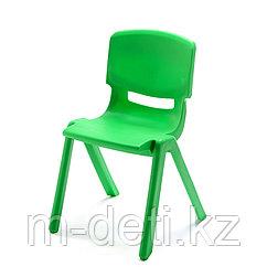 Стульчик детский пластиковый литой Радуга HD202 (зелёный) HUADONG