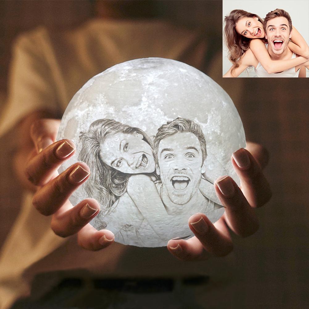 3D Лампа луна