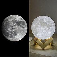 3D Лампа луна, фото 6