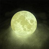3D Лампа луна, фото 9
